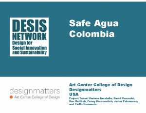 Safe Agua Colombia (2014)
