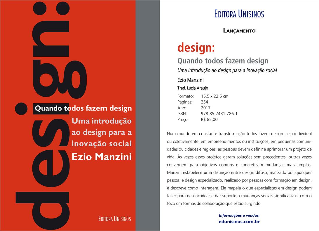 Desis Network Ezio Manzini Launches A Book In Rio De Janeiro Brazil Desis Network