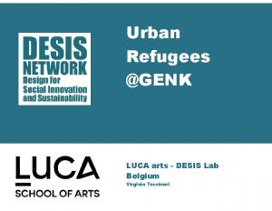 Urban Refugees @GENK