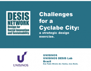 2018 – Challenges for a cyclable city