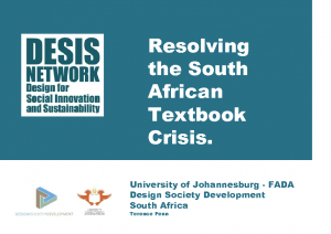 Resolving the South Africa textbook Crisis