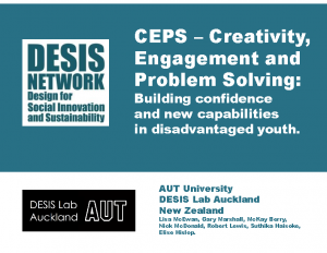 2018 – CEPS – Creativity, Engagement and Problem Solving