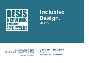 2014 – Inclusive Design