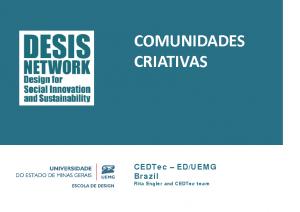 2014 – Comunidades Criativas