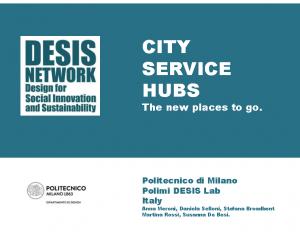 City Service Hubs
