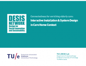 2018 – Connectedness for enriching elderly care