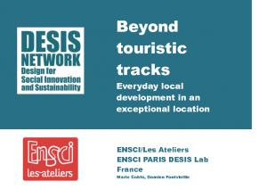 Beyond touristic traks