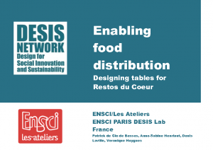 Enabling food distribution