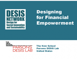 Designing for Financial Empowerment
