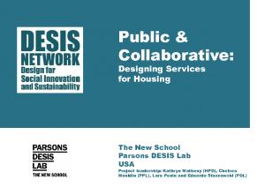 Public & Collaborative