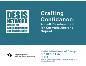2014_NID Desis LAB_Crafting confidence_LAD