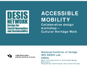 2018_NID Desis LAB_Accessible mobility