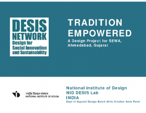 2018_NID Desis LAB_Tradition empowered