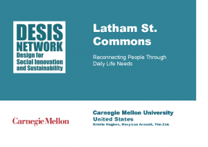2014 – Latham St. Common