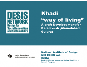 2014 – Khadi way of living