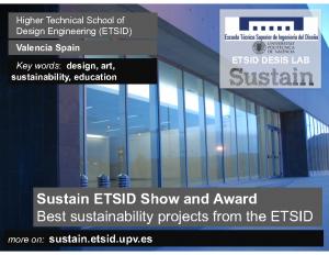 2014 – Sustain EASD_Valencia (2014)
