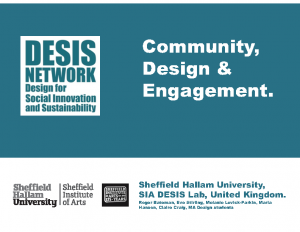 SIA DESIS Community Design & Engagement (2018)
