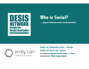 Who is Social – Emilly Carr